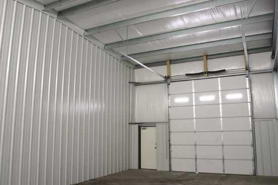 The Steel Building Store Garage Door Interior. The Steel Building Store ...